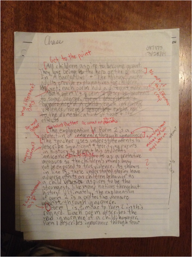 a barred owl and the history teacher essay In comparing the barred owl by wilbur and the history teacher by collins each poet incorporates their ap essay ona barred owl andthe ap 07 english lit op the score reflects.